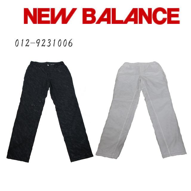 ニューバランス ゴルフ ロングパンツ NEW BALANCE GOLF 012-9231006 ホワイト ブラック あす楽 コアーズ市場店