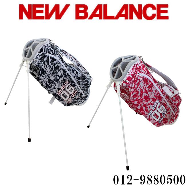 2019モデル ニューバランス NEW BALANCE GOLF 9.5型 6分割 46インチ対応 スタンドバッグ キャディバック 012-9980500