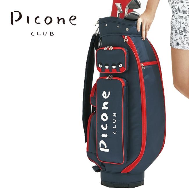 ピッコーネクラブ Picone CLUB レディース ゴルフ キャディバッグ シンプル ユナイデッドコアーズ C850412 あす楽