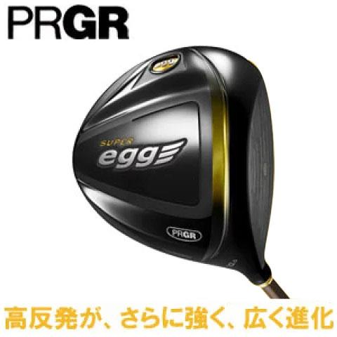 プロギア メンズ ゴルフ クラブ ドライバー NEW SUPER egg DRIVER 金エッグ ニュー スーパー エッグ オリジナル カーボン シャフト ユナイテッドコアーズ [PRGR]