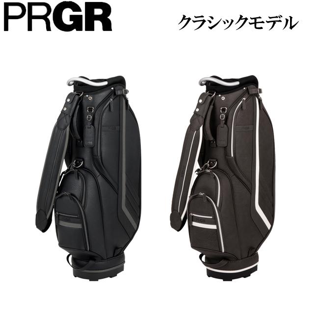 プロギア メンズ ゴルフ キャディバッグ クラシックモデルシリーズ PCB-103 2018 [PRGR]
