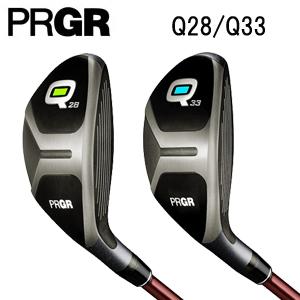 プロギア PRGR Qキュー HEAVYシャフト ゴルフクラブ ユーティリティ Q28 Q33