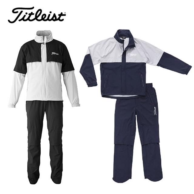 タイトリスト Titleist メンズ ゴルフ 4Way ストレッチレインウェア カッパ TSMR1695 取り寄せ