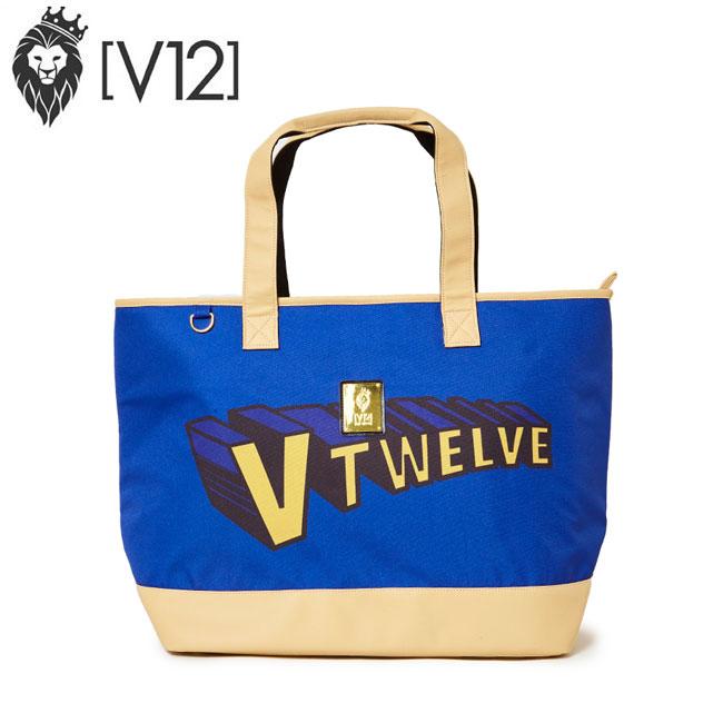 あす楽 即納 ヴィトゥエルヴ V12 ゴルフ トートバッグ BIG TOTE SUPER V12 スーパー V12 ビッグトート V121910-BG01 ネイビー