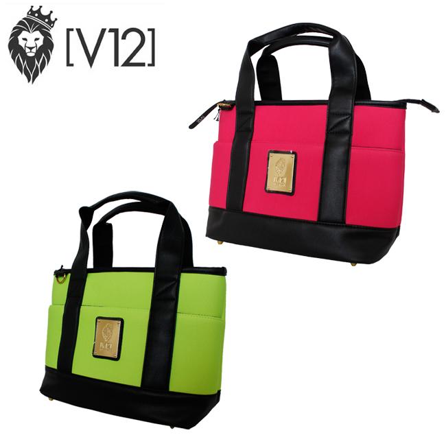 ヴィトゥエルヴ V12 ゴルフ 鞄 収納 ラウンドバッグ ネオプレーン カートバッグ ピンク NEO CART BAG かわいい ゴルファー V122010-BG08 あす楽 ユナイテッドコアーズ