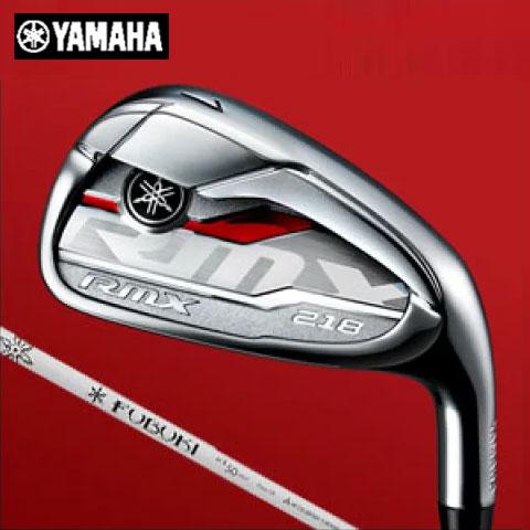 ヤマハ YAMAHA メンズゴルフクラブ RMX 218 リミックス アイアン 5本セット(#6-PW) FUBUKI Ai 2 IRON 50 シャフト