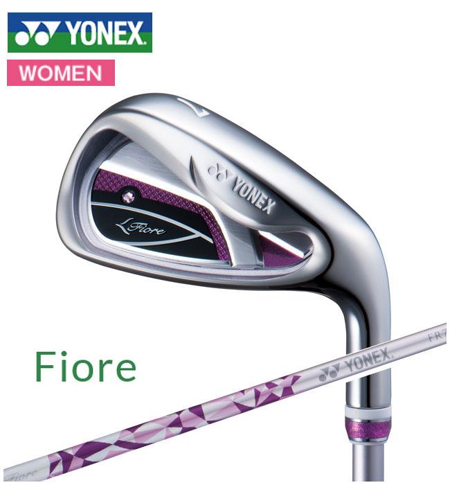 ヨネックスゴルフ YONEX GOLF レディース Fiore IRON フィオーレ アイアンセット 5本 #7-PW SW FR700カーボンシャフト 2018