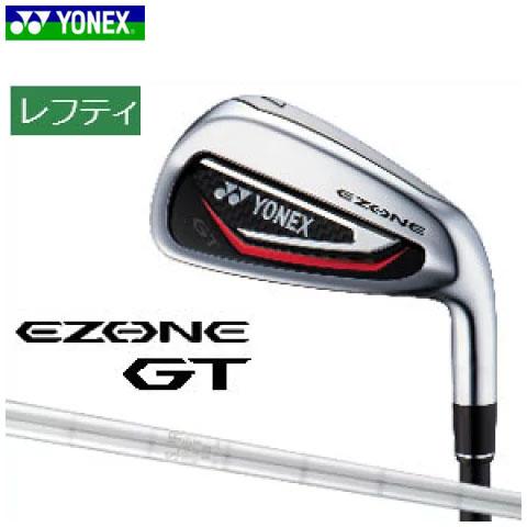 ヨネックスゴルフ YONEX GOLF メンズ ゴルフクラブ レフティ EZONE GT IRON イーゾーン GT アイアン 5本セット(#6-Pw) スチールシャフト 左用