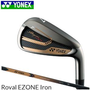 ヨネックスゴルフ YONEX GOLF メンズ ゴルフクラブ Royal EZONE Iron イーゾーンアイアン 4本セット(#7-#9,PW) XELA for Royal