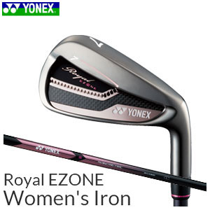 ヨネックスゴルフ YONEX GOLF レディース ゴルフクラブ アイアン Royal EZONE Women's Iron ロイヤル イーゾーン ウィメンズ アイアン 単品(#6,AW,AS,SW) XELA for Royalシャフト 【thxgd_18】