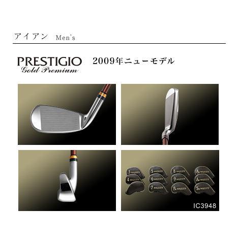 MAJESTY PRESTIGIO Gold Premium IRON Men'sマジェスティ プレステジオGP メンズ アイアン 単品 MJ-I【送料無料】