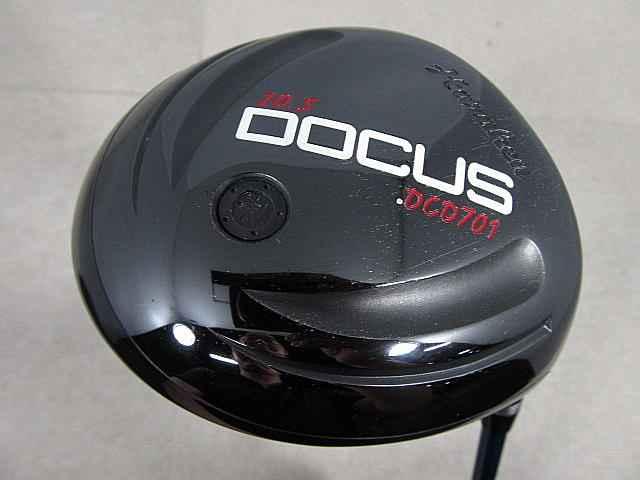 【2点以上送料無料】【即納】【中古】DOCUS(ドゥーカス) DOCUS(ドゥーカス) DCD701 ドライバー オリジナルカーボン 1W
