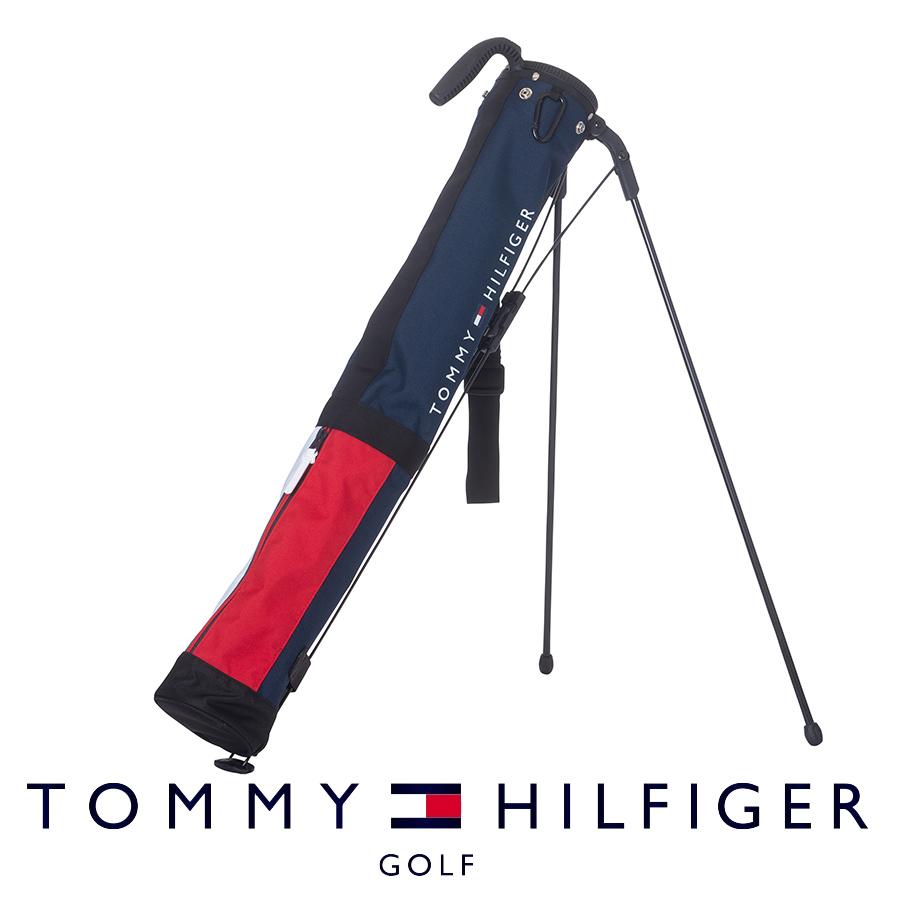 セルフスタンドバッグ バック ゴルフバッグ 実物 メンズ レディース トミーヒルフィガー 新商品!新型 THMG1FK3 SIGNATURE SS 21F ゴルフ用品