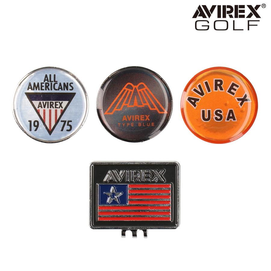 ゴルフマーカー AVIREX アビレックス ゴルフ AVXBA1-85MK メンズ レディース