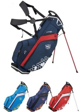 ゴルフ キャディーバッグ メンズ ウィルソン WILSON FEATHER CARRY BAG キャディバッグ 2019モデル