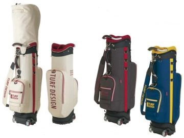 ゴルフ キャディーバッグ TURF DESIGN ターフデザイン キャディバック TDCB-1873 Roller Caddie Bag アサヒゴルフ