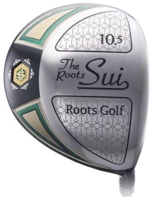 ゴルフ クラブ ドライバー メンズ ルーツゴルフ 粋 The Roots Sui ROOTS GOLF DRIVER 2017モデル