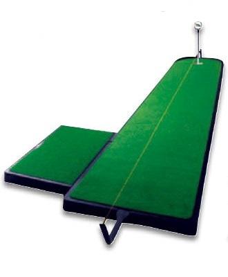 ゴルフ パターマット ツアーリンクス トレーニングエイド 9フィート(2.7m) TA-5PP ライト Z-124