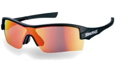 スワンズ サングラス STRIX H-1701 MBK ストリックス・エイチ ミラーレンズモデル LITE ライト Y-217 2017モデル