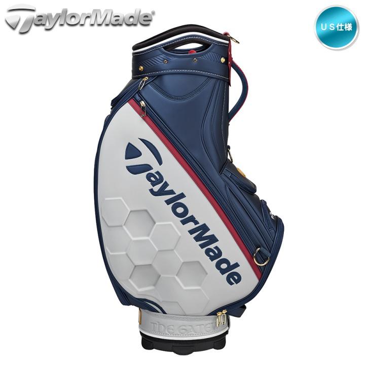テーラーメイド TM19 British Open Staff Bag 10.5インチ スタッフ キャディーバッグ Taylormade 全英オープン US仕様【あす楽対応】