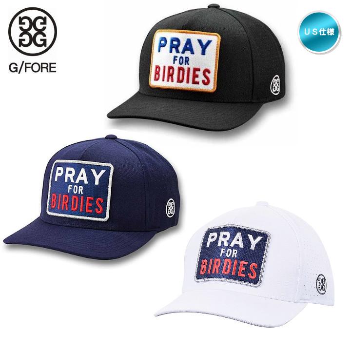 おしゃれなゴルファーが大注目のブランド G FORE Gフォア PRAY FOR BIRDIES 現金特価 メール便不可 SNAPBACK USモデル キャップ 激安通販販売 G4AC0H04 帽子 あす楽対応