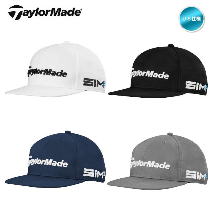 契約プロも着用するツアーモデル 2021 テーラーメイド Tour Flat Bill キャップ N7808 帽子 セール商品 フラットビル TP5 直営店 ツアー US仕様 あす楽対応 SIM2 メール便不可 TaylorMade