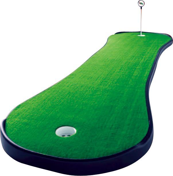 【パターマット】【ゴルフパッティング練習用品】ライト(LITE)Z-126 ドッグボーンDB2PP