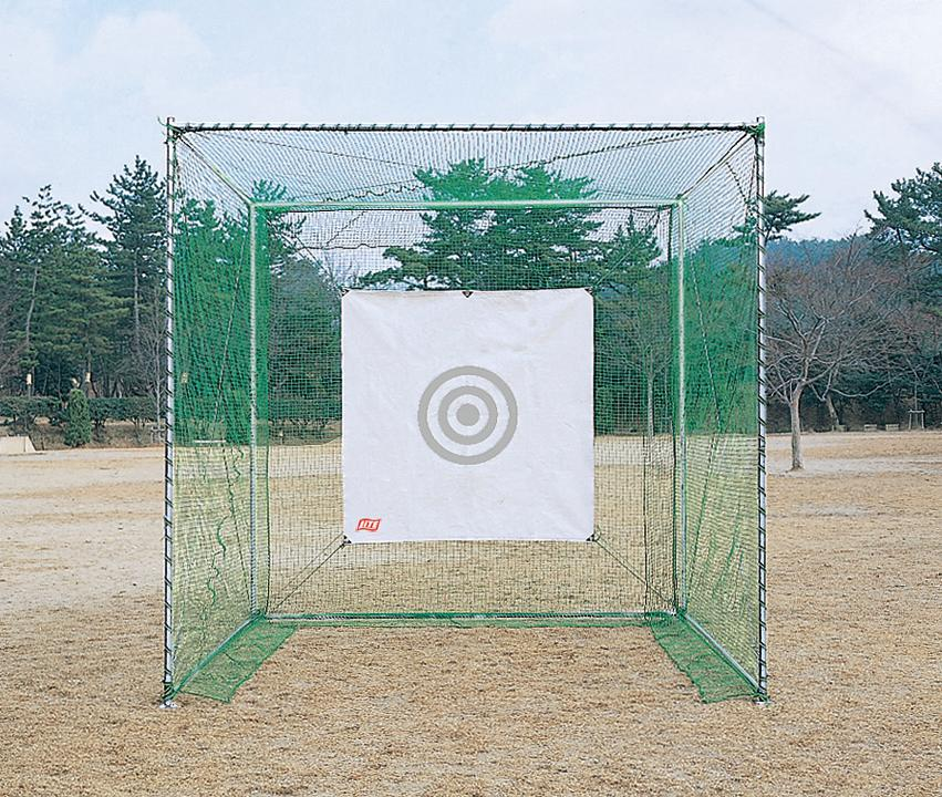 【ゴルフネット】【ゴルフ練習用】【組立式】ライト(LITE)M-67 ゴルフネット キューブ型強力(AB)