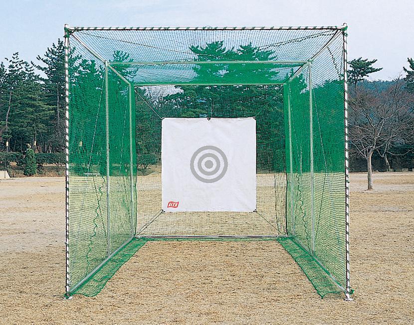 【ゴルフネット】【ゴルフ練習用】【組立式】ライト(LITE)M-69 ゴルフネット ロング型強力(SP)