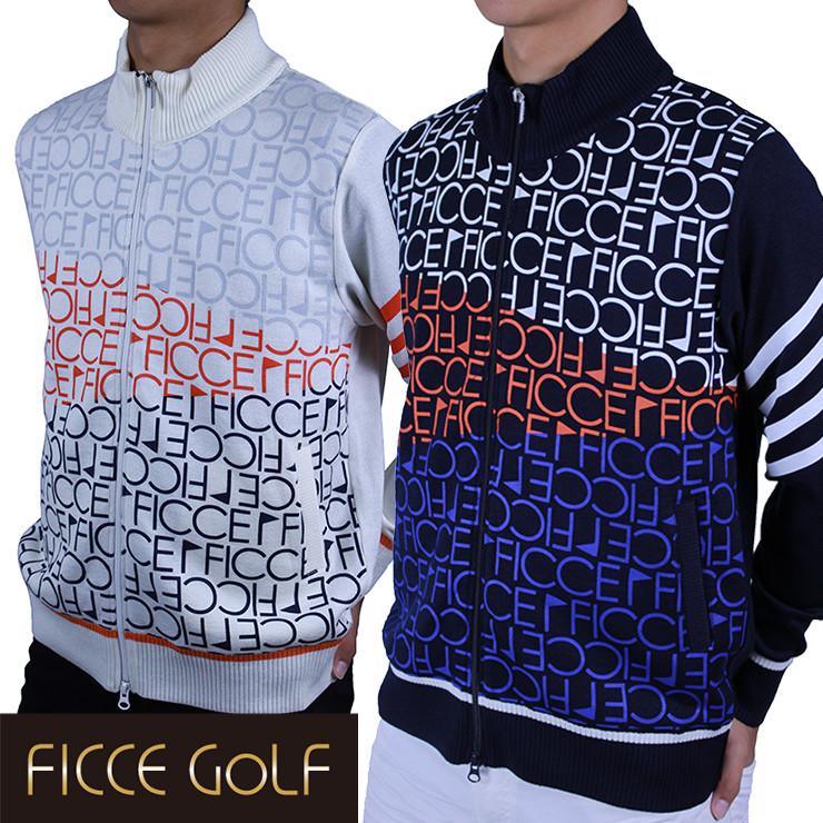 【50%OFF!!】FICCE フィッチェ メンズ MENS ゴルフ ウエア ゴルフ ゴルフウェア 271602 正規販売店 秋冬 おしゃれ ゴルフ ウェア トップス FICCE フィッチェ メンズ MENS トップス ニット セーター セーター 大きいサイズ