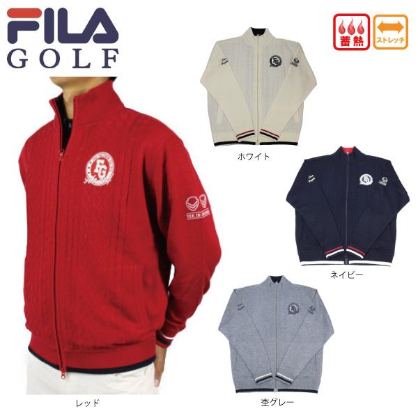 【50%OFF】フィラゴルフ FILA メンズ ストレッチ ジャケット 蓄熱 788709 ゴルフ 【ラッキーシール対応】