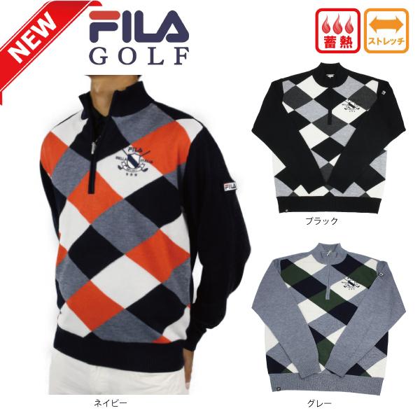 【新作】フィラゴルフ FILA GOLF メンズ セーター ストレッチ 788710 蓄熱【ラッキーシール対応】