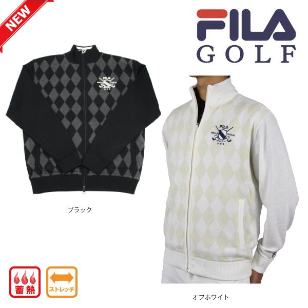 【新作】フィラゴルフ FILA GOLF メンズ セーター ストレッチ 788711 蓄熱 【ラッキーシール対応】