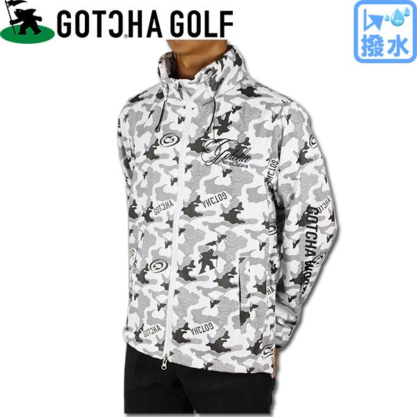 【20%OFF】GOTCHA GOLF ガッチャゴルフ 183GG1604 撥水 ウィンド ブレーカー ジャケット ゴルフウェア 大きいサイズ【ラッキーシール対応】