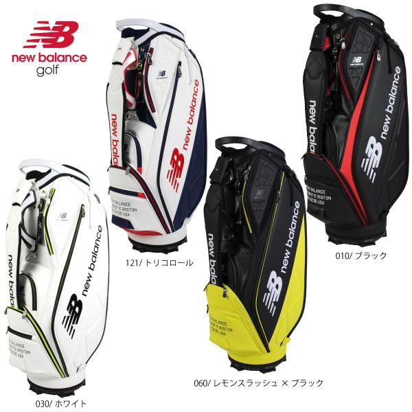 【2020春夏モデル】ニューバランス ゴルフ キャディバッグ 9型 46インチ 約3.8kg 012-0980001ゴルフバッグ ゴルフ用品 newbalance golf 4カラー