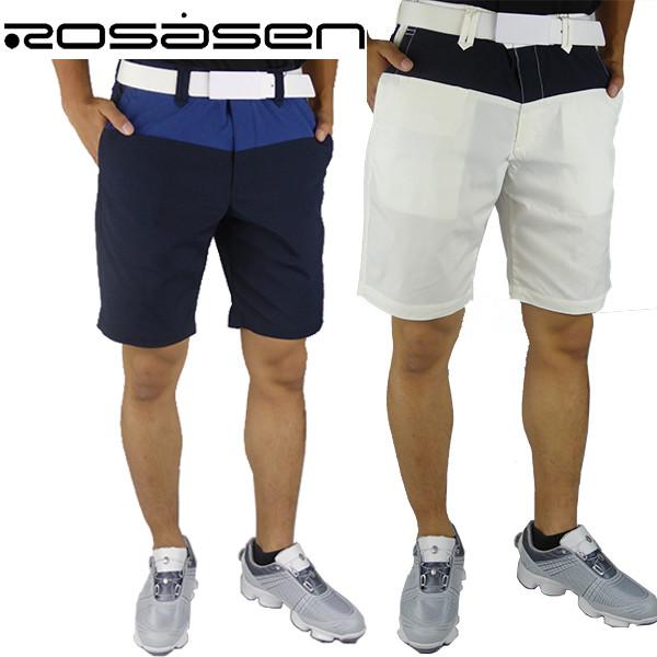 【40%OFF!!】Rosacen ロサーセン メンズハーフパンツ ゴルフ ウエア ゴルフ 047-75440 ロサーセン ゴルフウェア