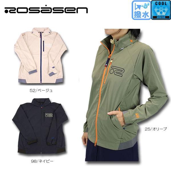 【40%OFF!!】Rosasen ロサーセン 045-56810 撥水 ウィンドブレーカー 接触冷感 ゴルフウェア メンズ ゴルフ
