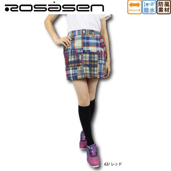 【50%OFF】 ROSASEN ロサーセン 045-76042 レディースゴルフ スカート【ラッキーシール対応】