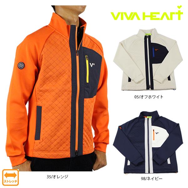 【50%OFF】 VIVA HEART ビバハート 011-56012 ピンソニックブルゾン メンズ ゴルフウェア アウター ストレッチ 【ラッキーシール対応】