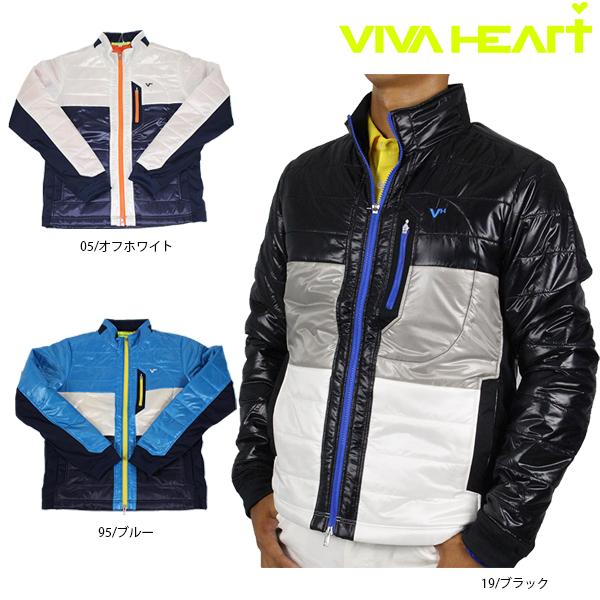 【40%OFF】VIVA HEART ビバハート 011-56113 トゥインクルライトブルゾン メンズ ゴルフウェア アウター 【ラッキーシール対応】