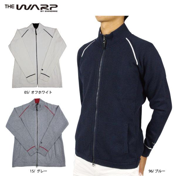 【50%OFF】 WARP ワープ 121-56910 ジップアップニットジャケット メンズゴルフウェア シンプル ゴルフ【ラッキーシール対応】