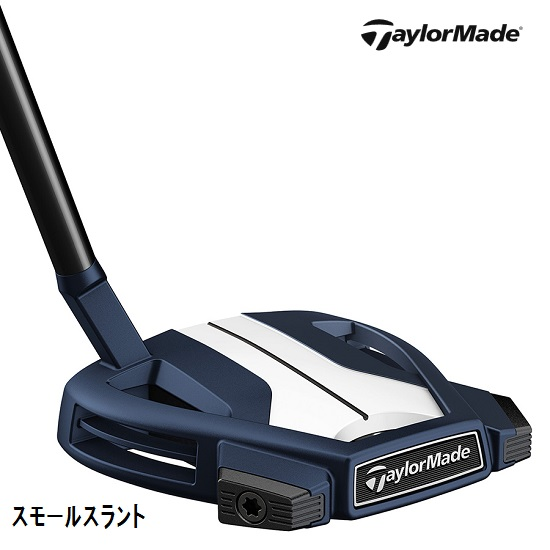 テーラーメイド スパイダー X ブルー/ホワイト パター JP