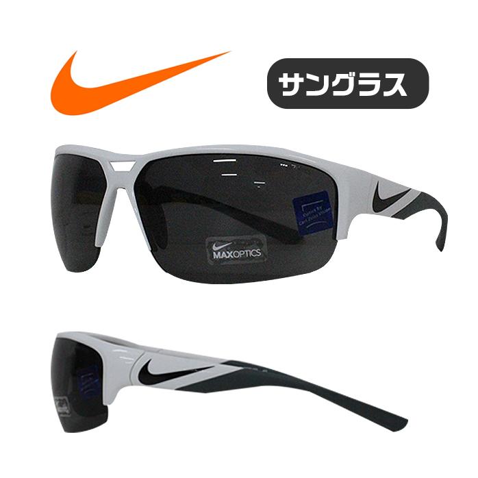 ナイキ ゴルフ サングラス 普段使いもできる オシャレなサングラス 付属品つき NIKE VISION GOLF X2 EV0870 100 ホワイト