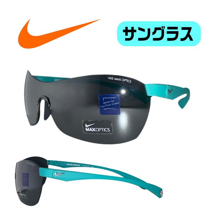 ナイキ ゴルフ サングラス ミラーレンズ 普段使いもできる オシャレなサングラス 便利な付属品つき NIKE EXCELLERATE EV0742 ブルー