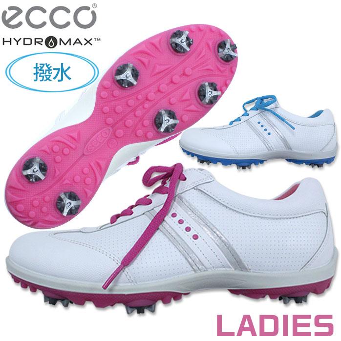 ecco H C COOL レディース 優れた撥水性 撥水 レザー ゴルフシューズ エコー ゴルフ シューズ 120043