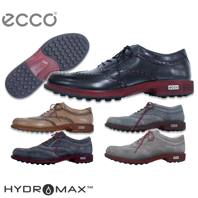 ecco H TOUR HB 優れた撥水性とデザイン性の高いシューズ レザー スパイクレス ゴルフシューズ エコー 141514