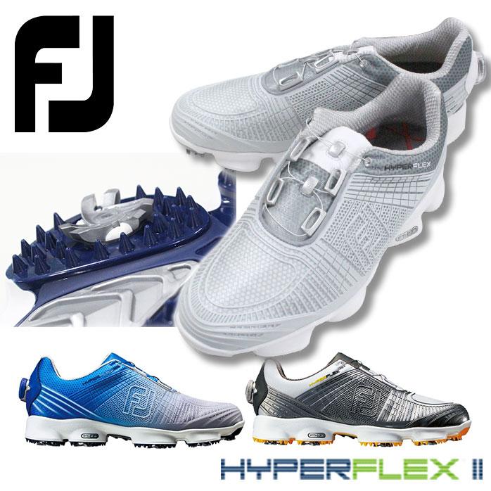 フットジョイ シューズ ハイパーフレックス2 ボア プロに選ばれたアスレチックタイプのシューズ ゴルフ メンズ HYPERFLEXII boa FOOTJOY 51026 51032 51040 3色 2E相当 EE