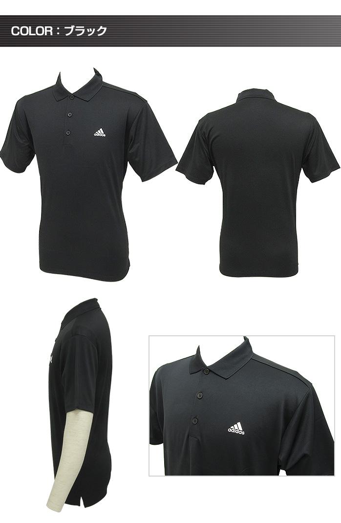 아디다스 골프 퍼포먼스 반 소매 폴로 셔츠 심플한 디자인으로 풍부한 칼라 전개 높은 신축성 스트레스 없는 운동을 지원 남성 골프 웨어 adidas golf wear KGD37