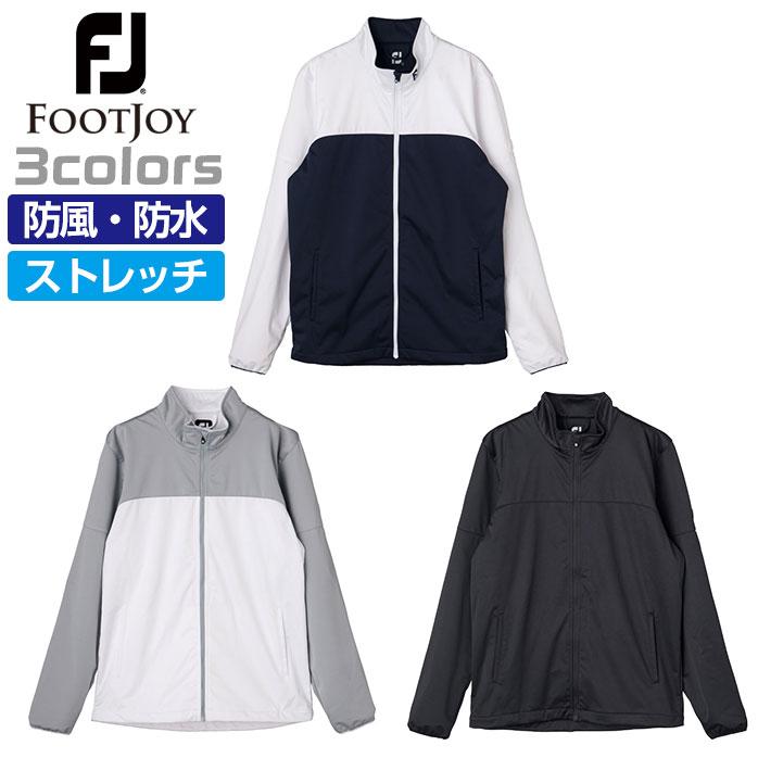 フットジョイ ゴルフ メンズ ジャケット ソフトシェル 防水透湿 撥水 防風 ストレッチ FOOTJOY F19-O03