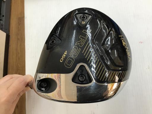 中古 Cランク (フレックスS) 本間ゴルフ TOUR WORLD TR20 460 10.5° VIZARD FD-5 S 男性用 右利き ドライバー DR